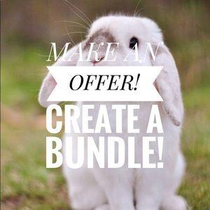 Create a bundle, make an offer!